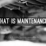 معنی نگهداری و تعمیرات